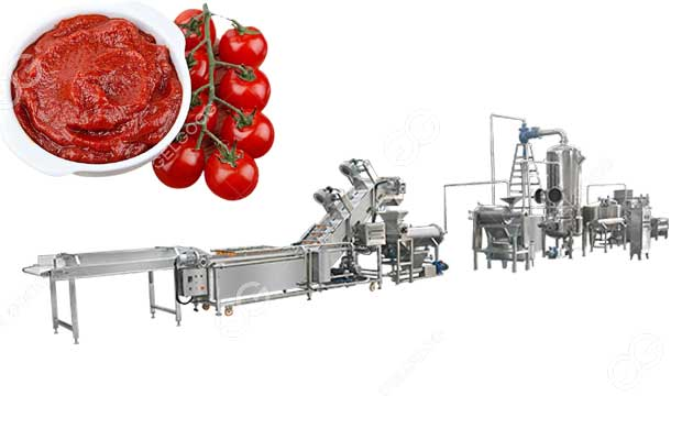 Tomato Paste Manufacturing Plant For Canned Tomato Ketchup