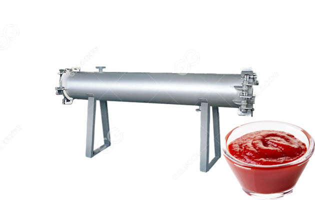 tomato paste preheater