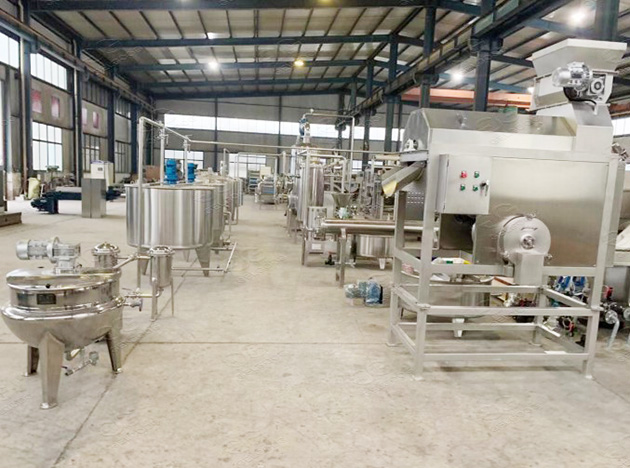 Passion Fruit Production Line in factory