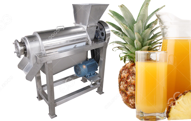 500kg/h Automatic Golden Pineapple Juice Extraction Machine