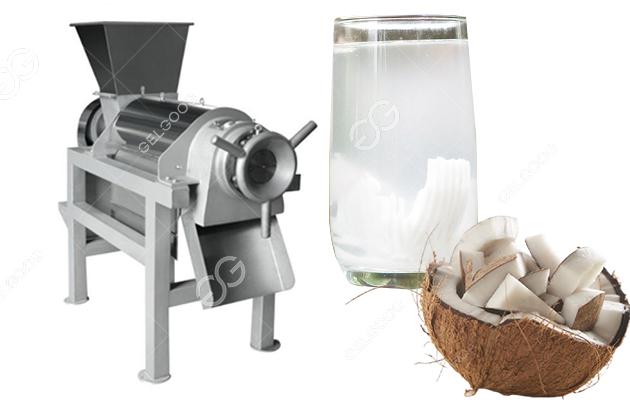 Stainless Steel Coconut Juice Extractor Machine