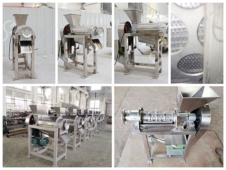 juice extractor machine details in our factory
