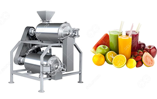 Fruit Pulp Extraction Machine For Mango Pulp Making