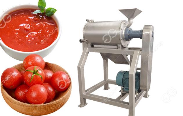 tomato pulp extraction machine