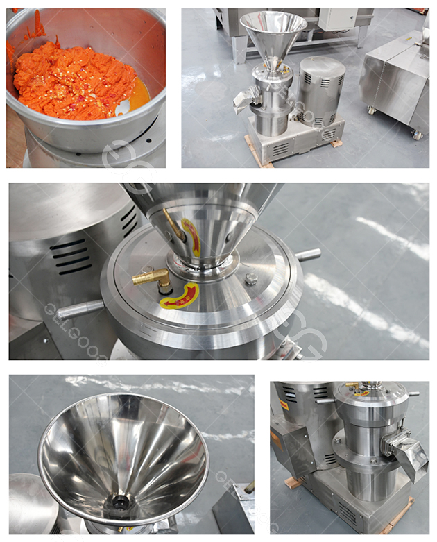 Chili sauce grinding machine