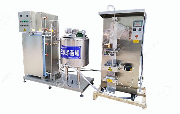 Fresh Milk Pasteurizer
