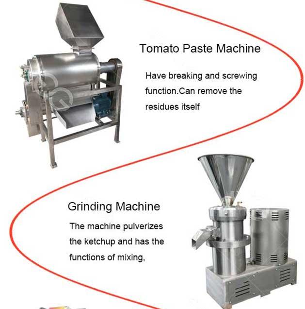 tomato sauce grinding machine