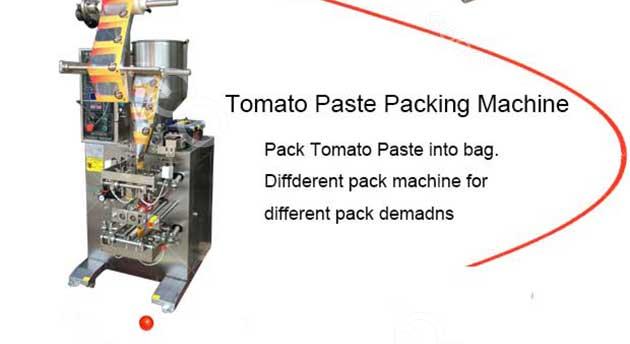 tomato sauce packging machine