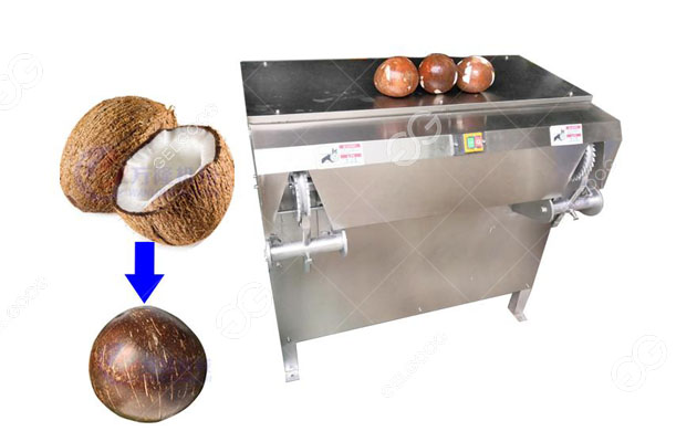 Stainless Steel Fully Automatic Coconut Deshelling Machine