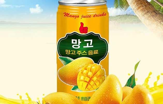 mango-flavored juice drinks