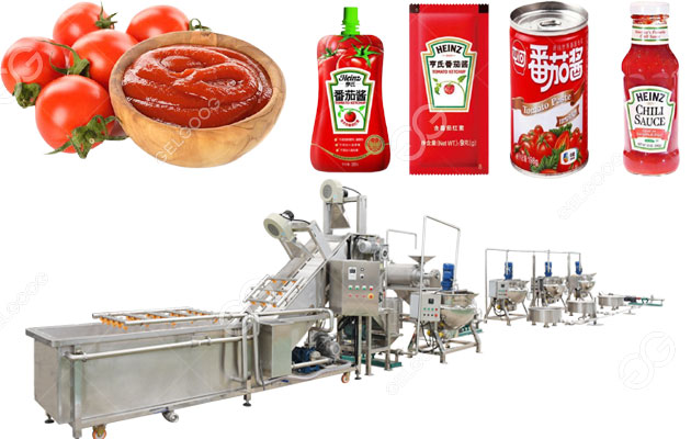 Small Scale Tomato Processing Plant With 250 kg/h Yield