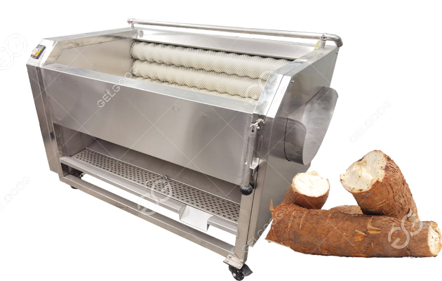 Cassava Washing and Peeling Machine for Cassava Processing