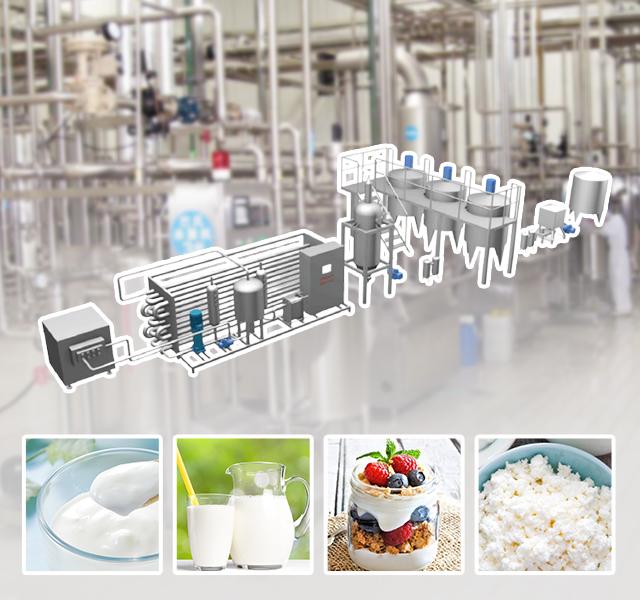 Complete Milk Processing Line Solution