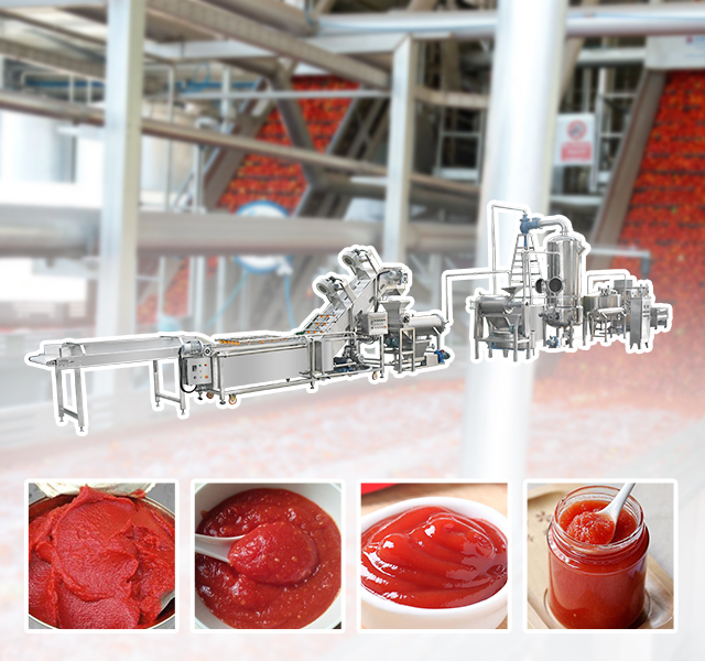 Fruit and Vegetable Sauce Processing Line Solution