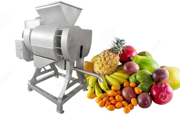 Industrial Poly Fruit Juice Extractor for Tropical Fruit Processing