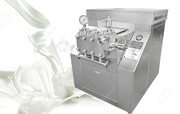 Small Scale Milk Homogenizer Machine For Milk Processing