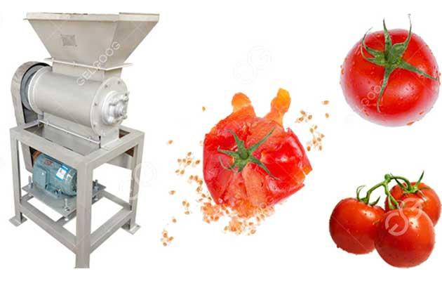 tomato crushing machine