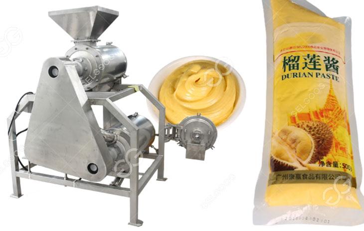 durian puree extraction machine