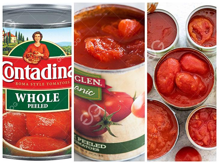 tin whole peeled tomatoes