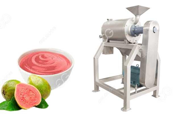 guava pulp making machine
