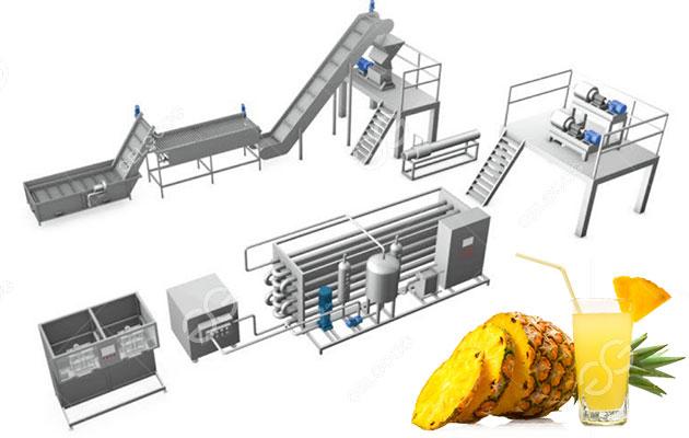 pineapple juice processing plant