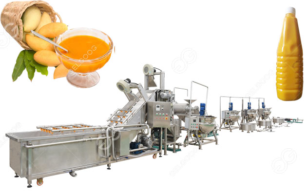 small scale mango pulp processing plant